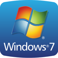 Windows 7 OEM badge svg