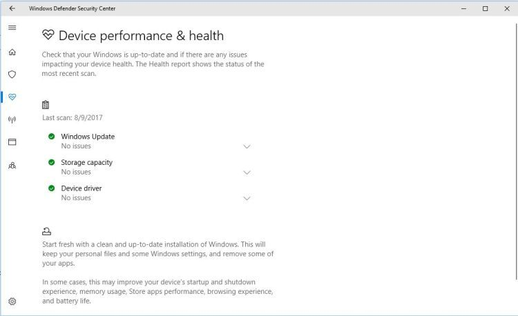 Windows Defender Performance